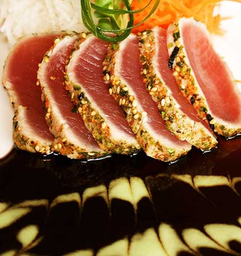 Seared Ahi by Three's Catering Maui