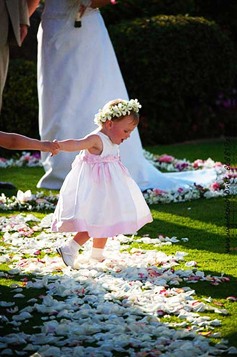 Flower girl by Country Bouquets