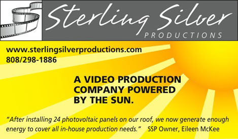 Sterling Silver Productions is totally sun-powered