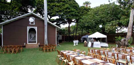 Hawaiian reception venue