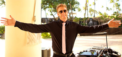 DJ Liam Grist - Maui Wedding DJ/MC