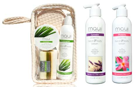 Body Lotion & Gift Set with Scrub